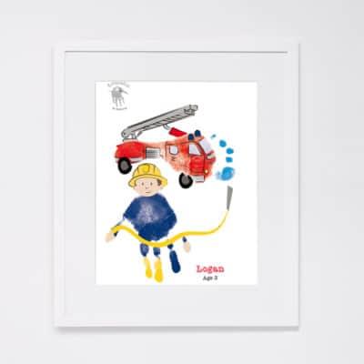 Fire Engine - fireman
