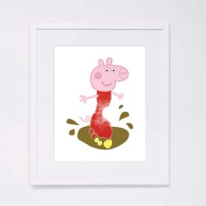 Peppa Pig Footprint