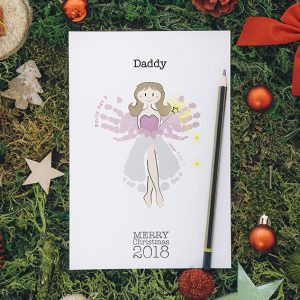 Fairy- A5 personalised Christmas Cards