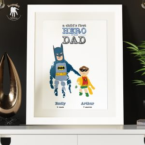 Batman and Robin Gift for Dad