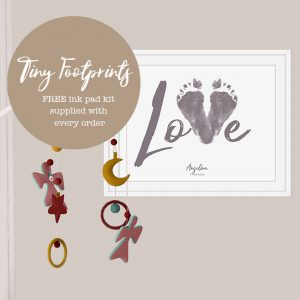 Baby footprint – LOVE