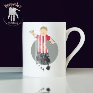Football themed gift for dad – mug