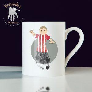 Football themed gift for dad – mug