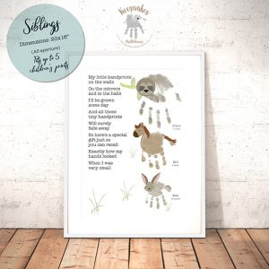 Handprint Poem – Large