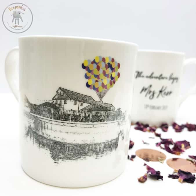 Keepsake Wedding Gifts: His And Hers Personalised Cups Personalised Wedding Gift