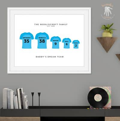 Manchester City-Family keepsake gift