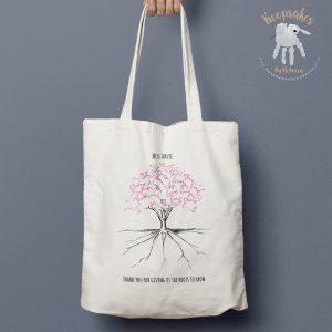 Personalised Class Tree | Teacher Tote Bag
