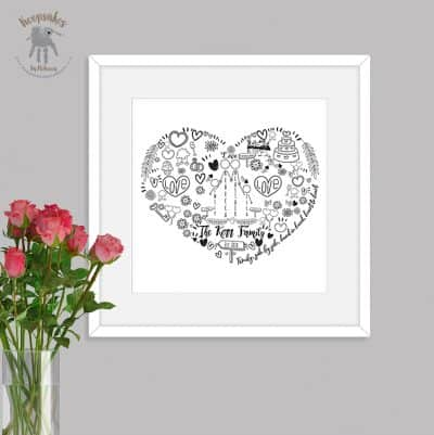 personalised family keepsake