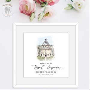 Personalised Wedding Venue – PRINTABLE