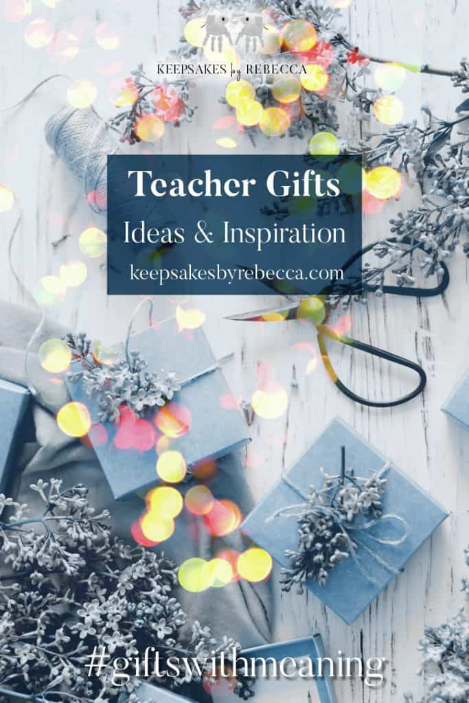 Teacher gift ideas | teacher gifts with meaning