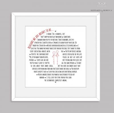 funny gift for husband | personalised gift for boyfriend | unromantic gift for husband