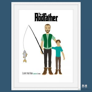 Father & Child Portrait | Fishing