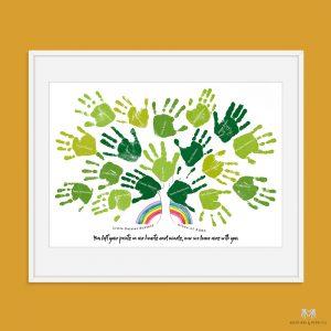 Class Gift- Handprint Tree